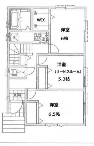 戸建(千葉市花見川区2号棟物件)